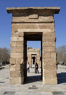 Egipto regaló a España el Templo de Debod.  B. Díaz