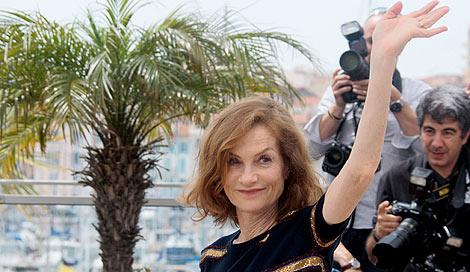 Isabelle Huppert preside el jurado del festival.   Foto: AFP