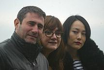 Junto a Sergi López e Isabel Coixet.   Q. G.