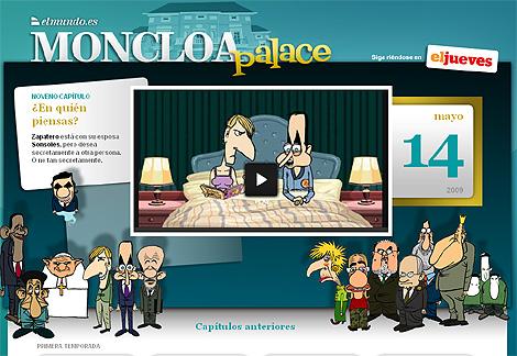 La tira cómica de 'El Jueves', en 'elmundo.es'.