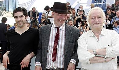 Rahim Tahar, Jacques Audiard y Niels Arestrup. | Foto: Reuters