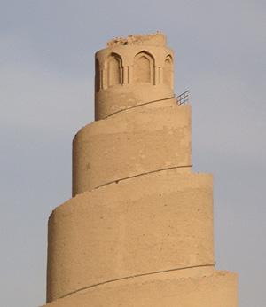 Detalle de los daños en el Zigurat. | M.G.P.