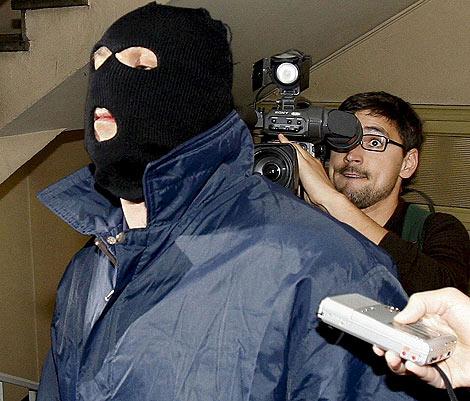 El segundo violador del Eixample, tras ser detenido por cometer abusos. | Efe