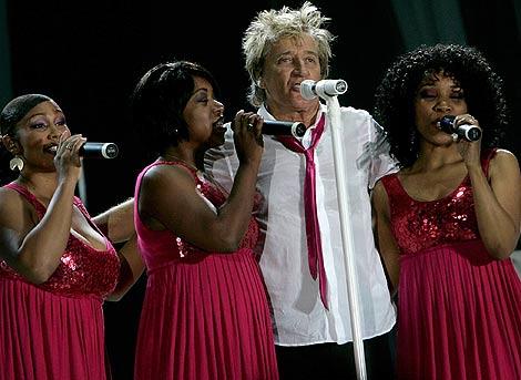 Imagen del concierto ofrecido por el artista en Santa Cruz de Tenerife. | Foto: AFP