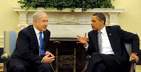 Netanyahu y Obama, juntos en la Casa Blanca. | Efe