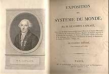 'Exposition du Systeme du monde' (edición de 1813).