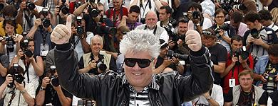 Amodóvar en Cannes. | Reuters