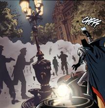 Batman vive disturbios en Canaletes, lugar de celebración de las victorias del Barça.
