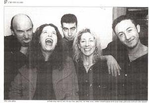 WhiteFlag: Israelíes y palestinos se unieron en el 98 en un inusual proyecto musical.