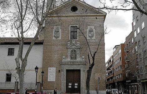 Iglesia de las Descalzas Reales, en la calle Ramón y Cajal, en Valladolid.