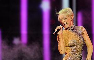 Soraya, desengaño eurovisivo. | Afp