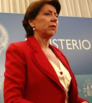 La ex ministra Magdalena Álvarez. | Antonio Heredia