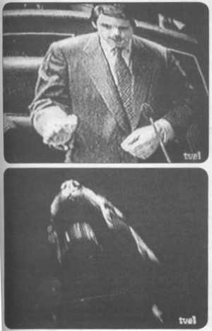 Dos fotogramas del vídeo del PSOE de 1996, emitido por TVE en un espacio electoral gratuito.