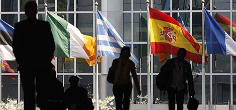 El exterior de la sede del Parlamento Europeo en Bruselas. | Reuters.