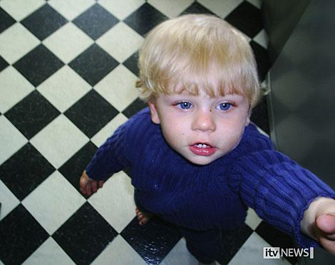 'Baby P'. | AFP/ITV News