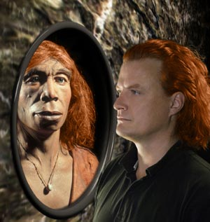 Recreación de un neandertal y un sapiens. / 'SCIENCE'