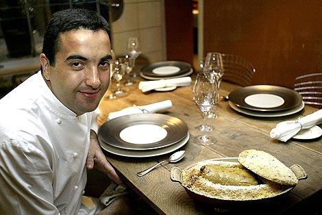 Óscar Velasco, encargado de desarrollar la oferta gastronómica de Abadía Retuerta. | A. C.