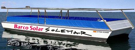 Imagen de una de las embarcaciones que la compañía tiene en Palma.   Seacleaner Trawler