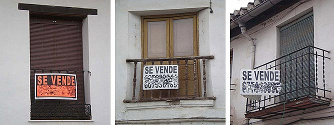 La crisis también ha afectado a este barrio, cuyos precios, aún elevados, y su privilegiada posición, lo hacen un lugar exclusivo para vivir en la capital granadina | Carlos Avilés