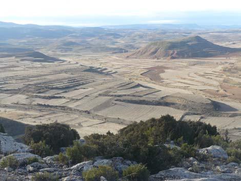 Panorámica del barranco del Salobre, en Teruel. | Foto: FBS