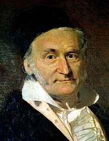 Retrato al óleo de Gauss por G. Biermann. | Observatorio de Pulkovo, San Petersburgo