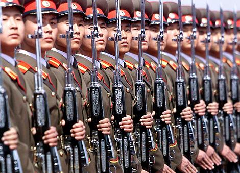 Soldados del Ejército norcoreano. | Ap