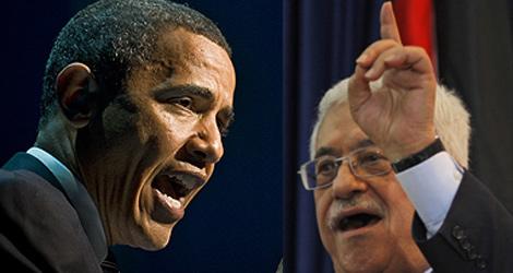 Barack Obama y Abu Mazen. | Agencias