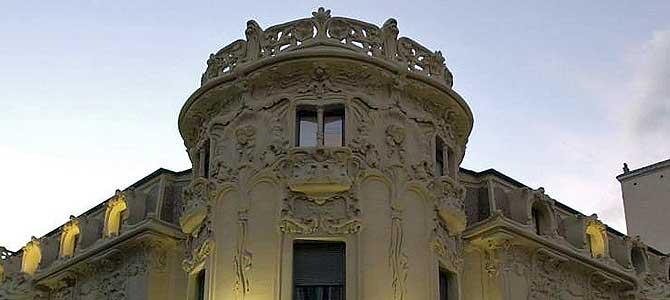 La sede de la Sociedad General de Autores y Editores (SGAE) en Madrid. | EL MUNDO
