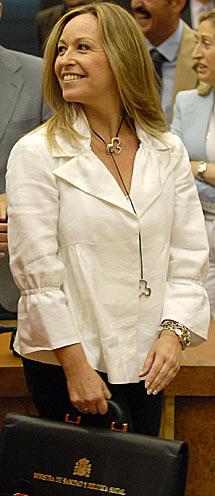 La ministra de Sanidad, Trinidad Jiménez. | Bernardo Díaz