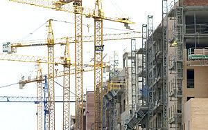 Construcción de bloques de viviendas | Efe