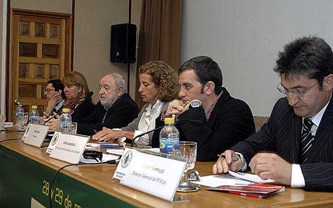 Asistentes a las jornadas sobre periodismo en Segovia. | Fernando Peñalosa