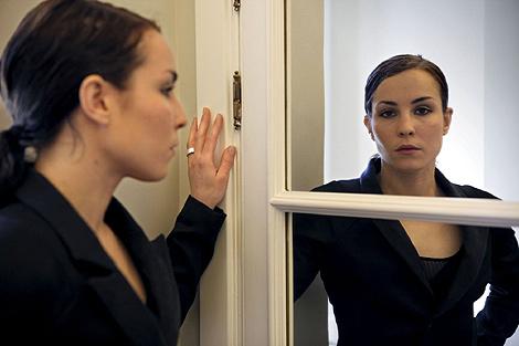 La actriz Noomi Rapace.   Sergio Enriquez