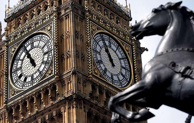 El Big Ben, el icono más famoso de Londres.   Efe