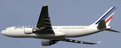 El A330-200 desaparecido, en una imagen tomada en 2006. | PBase.com