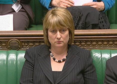 La ministra, en la Cámara de los Comunes el pasado mes de mayo. | Reuters