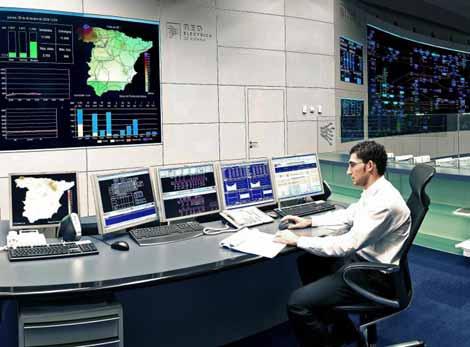 Centro de Control de Energías Renovables (CECRE). Foto: REE