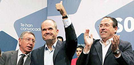 El ex presidente de la Junta, ayer en un acto de la campaña electoral. | Efe