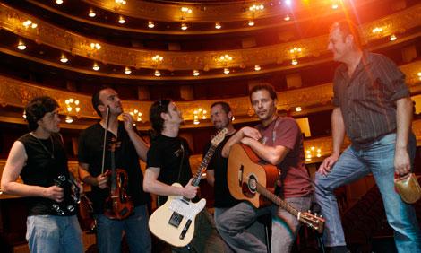Los integrantes del grupo.   Jordi Avellà