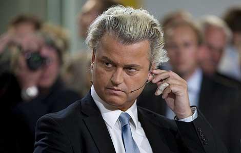 Geert Wilders, líder de la formación ultraderechista holandesa.   Efe