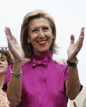 La diputada de UPyD Rosa Díez. (Foto: EFE)