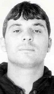 Imagen de Interpol del delincuente fugado Bushi Astrit.