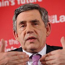 Gordon Brown. | Reuters.