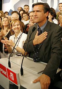 López Aguilar, en la sede del PSOE. | Alberto Di Lolli