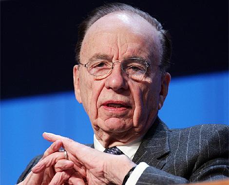 El magnate australiano Rupert Murdoch.
