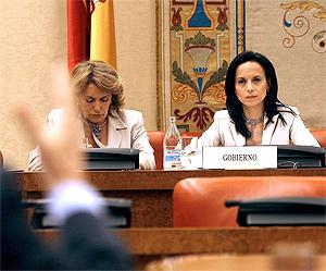 Beatriz Corredor en una de sus comparecencias ante la Comisión de Vivienda | Kike Para