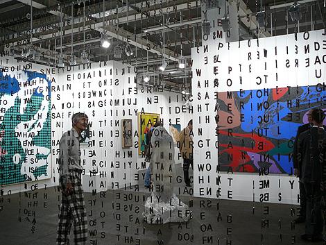 Una de las salas de la 40º edición de 'Art Basel'. | M. M.