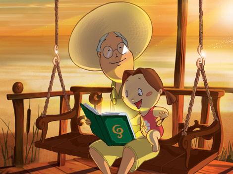Imagen del cortometraje de animación 'Margarita'.