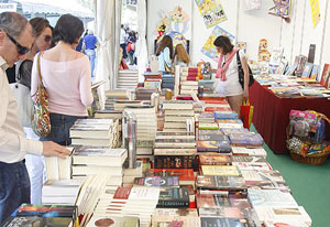 Imagen de la Feria del Libro de Palma en su última edición.