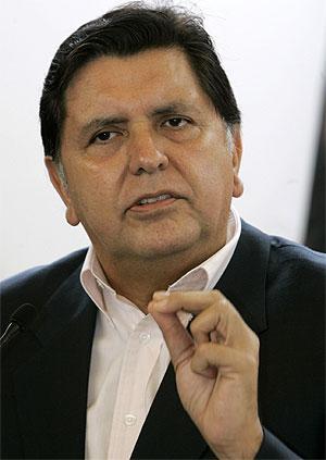 Alan García. | AP