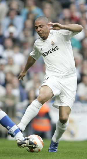Ronaldo (el brasileño de la anterior iteración) con la camiseta del Real Madrid (Foto: Carlos Barajas)